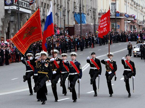 Парад Победы в регионах России - Sputnik Таджикистан