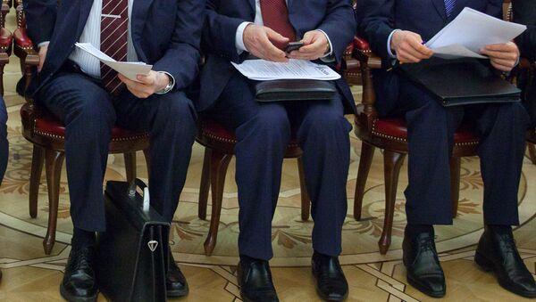 Чиновники, архивное фото - Sputnik Таджикистан