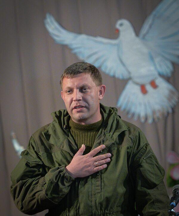Александр Захарченко. Архивное фото. - Sputnik Таджикистан