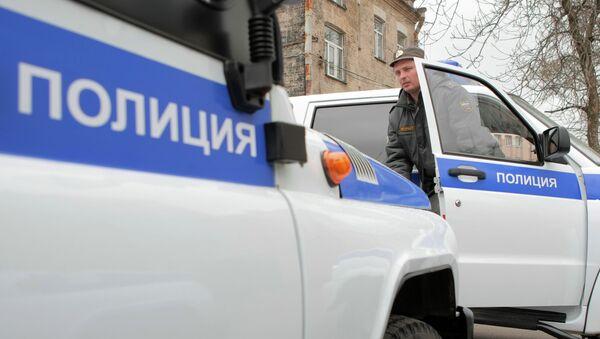 Служебные машины полиции. Архивное фото - Sputnik Таджикистан