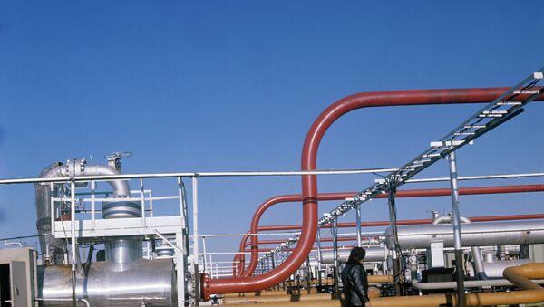 Месторождение природного газа Шатлык в Туркменистане. Архивное фото - Sputnik Таджикистан