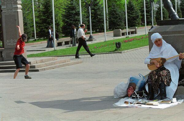 Вид на Алматы. Архивное фото - Sputnik Таджикистан