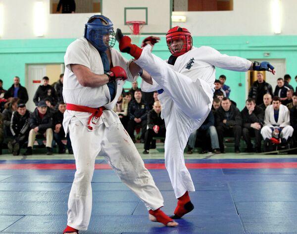 Чемпионат по рукопашному бою. Архивное фото - Sputnik Таджикистан