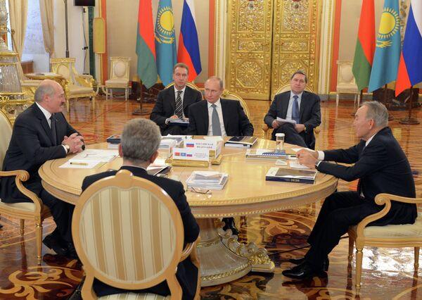 Заседание Высшего Евразийского экономического совета. Архивное фото - Sputnik Таджикистан
