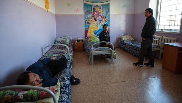 Спецприемник для нелегальных мигрантов. Архивное фото - Sputnik Таджикистан