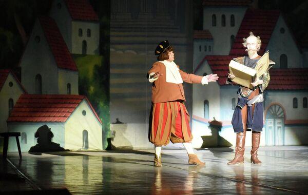 Дон Кихот в театре оперы и балета им. С. Айни - Sputnik Таджикистан