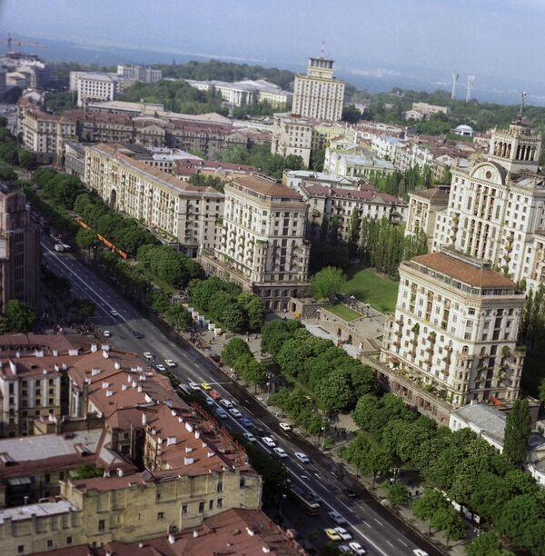 Вид на Киев. Архивное фото. - Sputnik Таджикистан