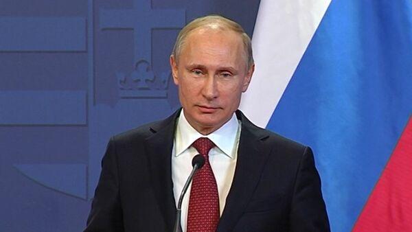 Владимир Путин - Sputnik Тоҷикистон