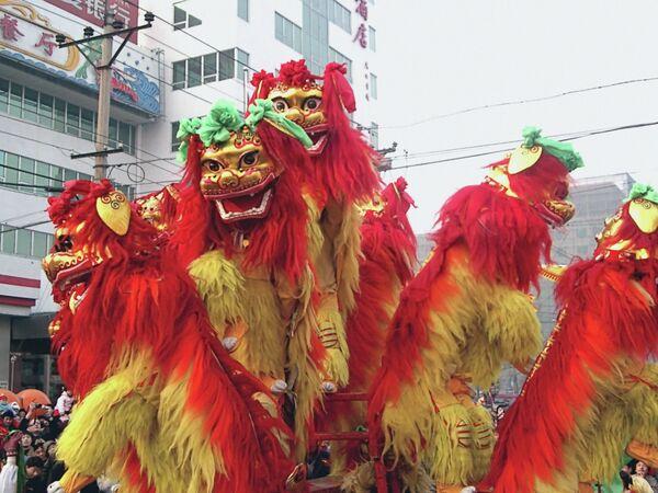 Празднование Нового года в Китае. Архивное фото. - Sputnik Таджикистан