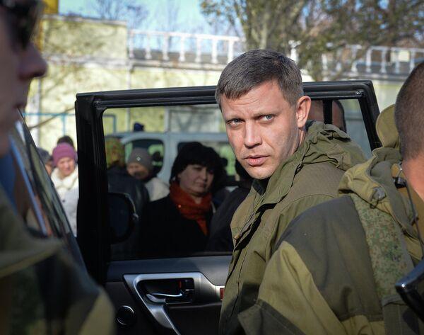 Глава ДНР Александр Захарченко. Архивное фото - Sputnik Таджикистан