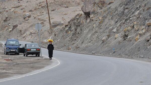 По дороге в Душанбе. Архивное фото - Sputnik Таджикистан