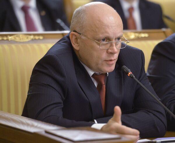 Губернатор Омской области Виктор Назаров. Архивное фото - Sputnik Таджикистан