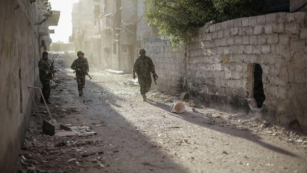 Военный конфликт в Сирии. Архивное фото - Sputnik Таджикистан