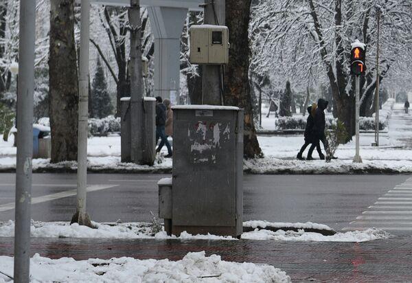 Погода в Душанбе 25 февраля 2015 года - Sputnik Таджикистан