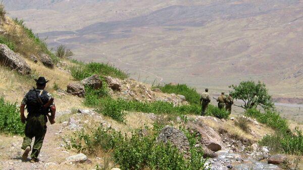 На таджикский-афганской границе, архивное фото - Sputnik Таджикистан