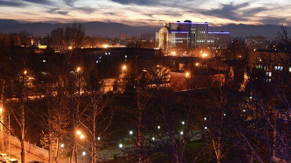 Вечерний Душанбе. Архивное фото - Sputnik Таджикистан