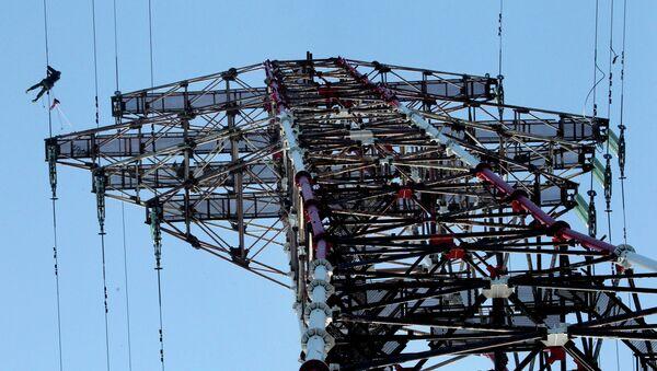 Линии электропередач. Архивное фото - Sputnik Таджикистан