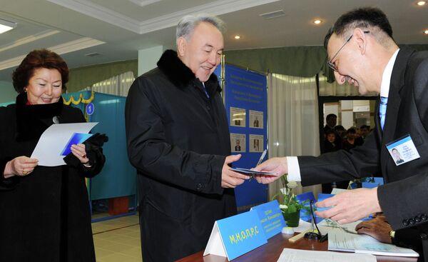 Выборы президента Республики Казахстан. Архивное фото - Sputnik Таджикистан