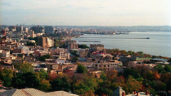 Панорама Баку. Архивное фото - Sputnik Таджикистан