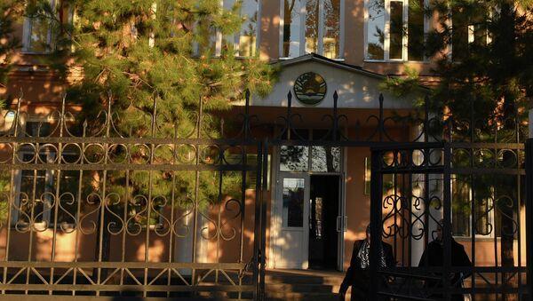 Вход в здание суда района И. Сомони. Архивное фото - Sputnik Таджикистан