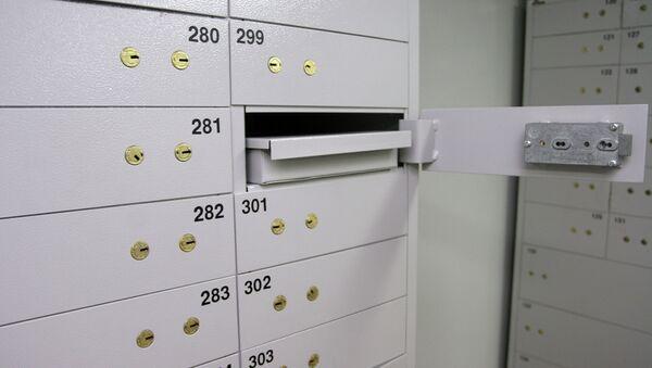 Банковские сейфы (ячейки). Архивное фото - Sputnik Таджикистан