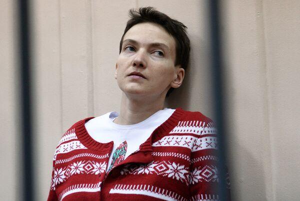 Заседание суда по делу Надежды Савченко. Архивное фото. - Sputnik Таджикистан