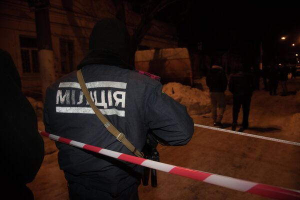Взрыв в Одессе у волонтерского центра - Sputnik Таджикистан