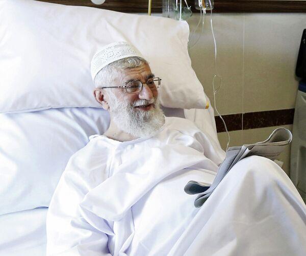 Али Хаменеи в госпитале в Тегеране в сентябре 2014 года - Sputnik Таджикистан
