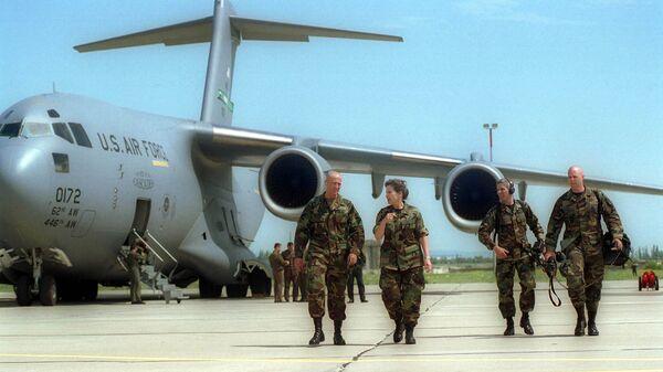 Американские военные инструкторы, архивное фото - Sputnik Таджикистан