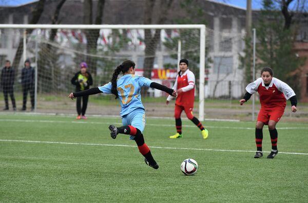 Женский футбол. Архивное фото - Sputnik Таджикистан