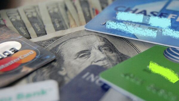 Денежные купюры и банковские карты - Sputnik Таджикистан