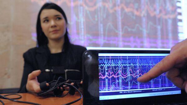 Исследования с использованием полиграфа на форуме Современные методы диагностики лжи - Sputnik Таджикистан