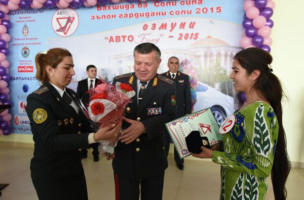 Конкурс «Авто-Бону-2015» - Sputnik Таджикистан