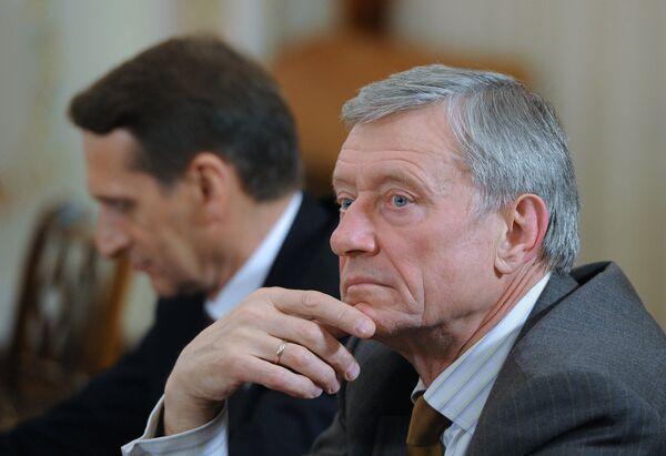Генеральный секретарь ОДКБ Николай Бордюжа. Архивное фото - Sputnik Таджикистан