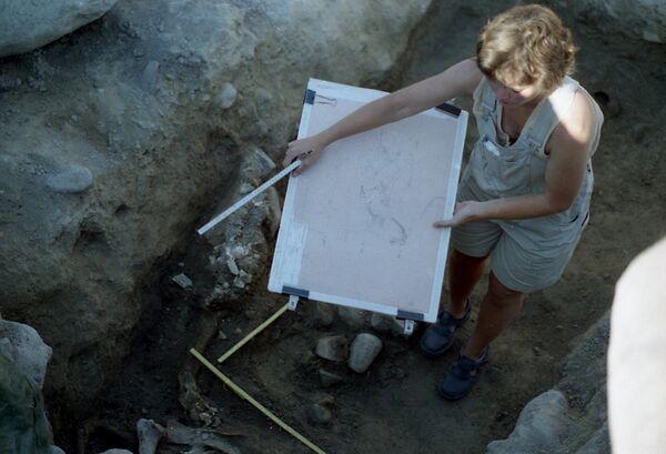 Археологические раскопки в окрестностях шведского города Бирка. Архивное фото - Sputnik Таджикистан
