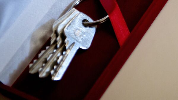 Ключи от квартиры, архивное фото - Sputnik Таджикистан