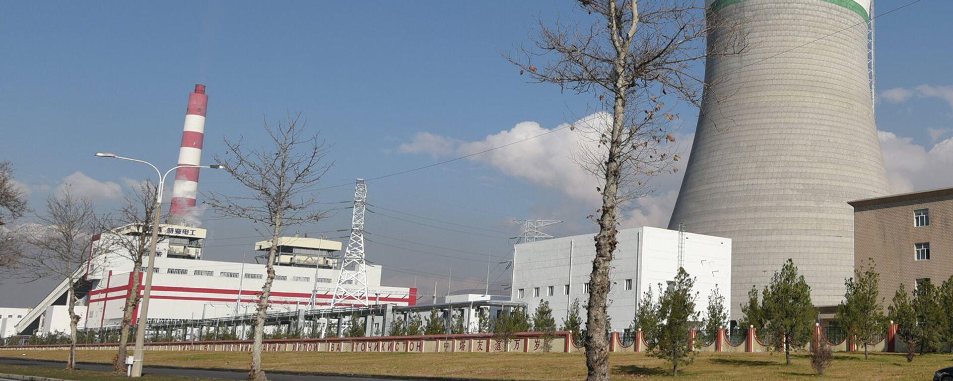 "ТЭЦ ""Душанбе-2"". Архивное фото - Sputnik Таджикистан, 1920, 22.07.2021"