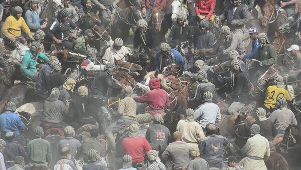 Бузкаши: национальная забава на лошадях - Sputnik Тоҷикистон