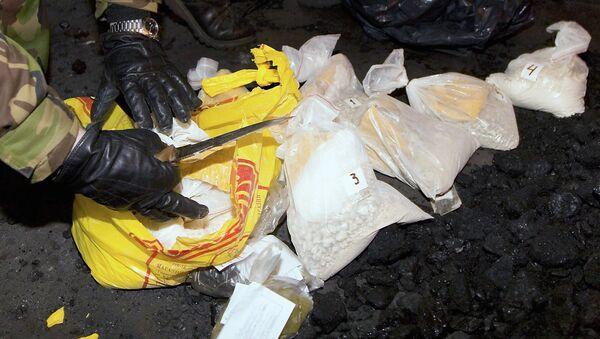Уничтожение наркотиков. Архивное фото - Sputnik Таджикистан