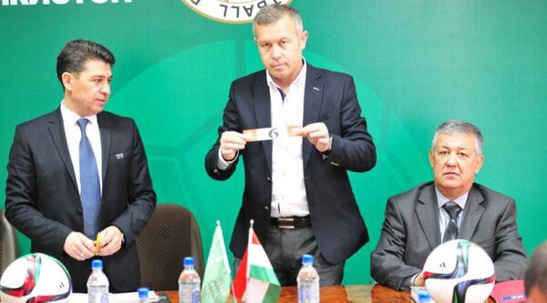Жеребьевка календаря 24-го чемпионата РТ среди команд Высшей лиги - Sputnik Таджикистан