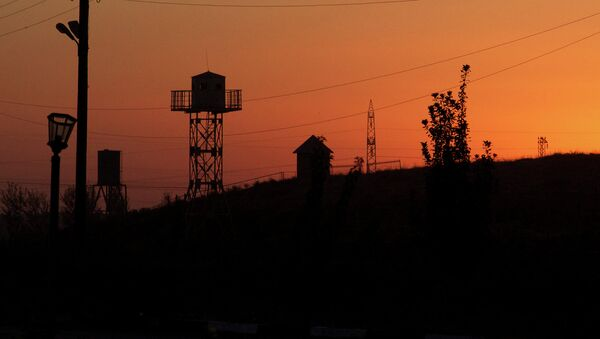 На границе, архивное фото - Sputnik Тоҷикистон