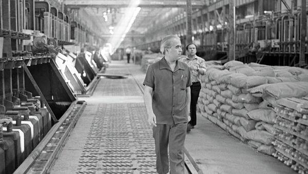 Директор Таджикского алюминиевого завода Салим Маккамбаев - Sputnik Тоҷикистон