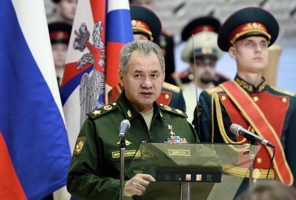 Министр обороны РФ Сергей Шойгу. Архивное фото - Sputnik Таджикистан