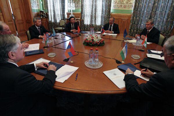 Заседание Совета министров иностранных дел ОДКБ. Архивное фото - Sputnik Таджикистан