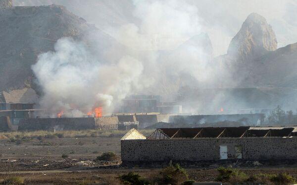 Вид на Аден (Йемен) 28 марта 2015 года - Sputnik Таджикистан