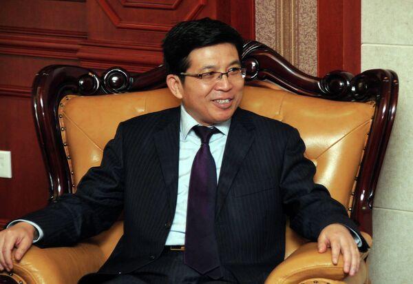 Посол Китая в Таджикистане Фан Сянжун. Архивное фото - Sputnik Таджикистан