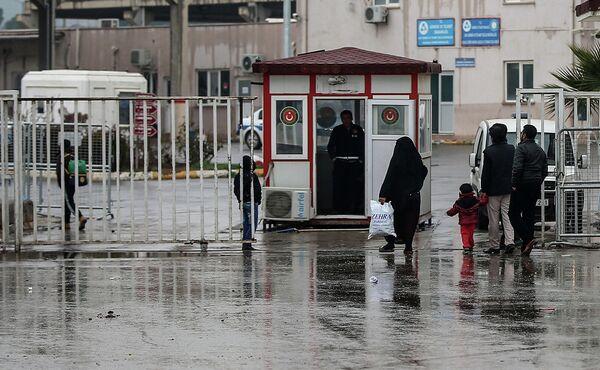 На турецко-сирийской границе. Архивное фото - Sputnik Таджикистан