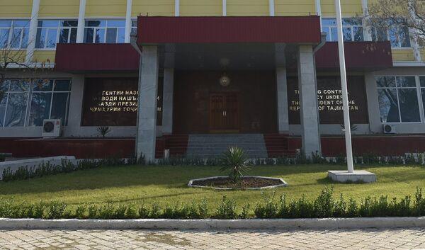 Здание Агентства по контролю за наркотиками РТ. Архивное фото - Sputnik Таджикистан