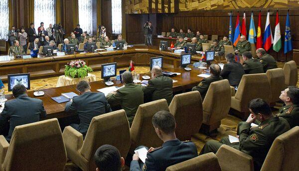 Заседание Военного комитета ОДКБ. Архивное фото - Sputnik Таджикистан