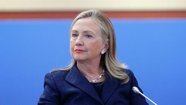 Хиллари Клинтон. Архивное фото. - Sputnik Таджикистан